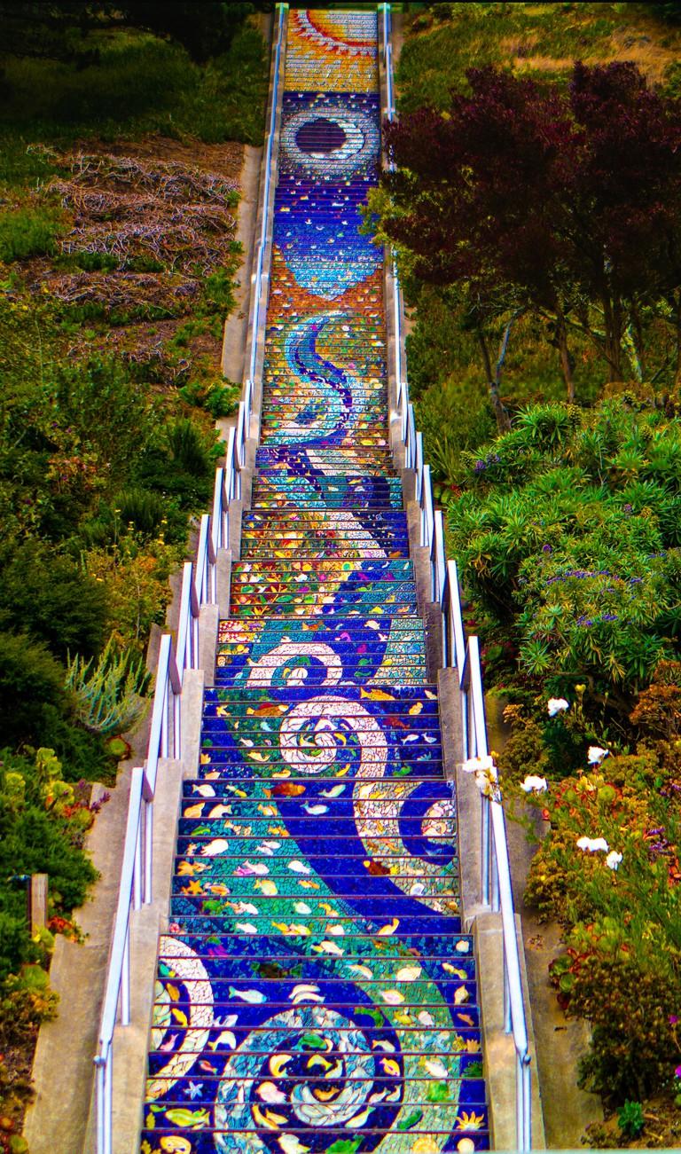 16th Ave. Mosaic Steps