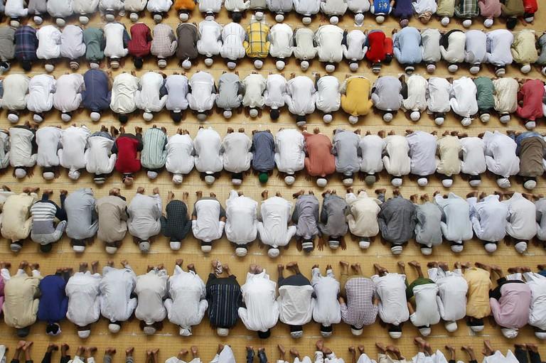 Muslim prayer | ©Jordi Bernabeu Farrús / Flickr