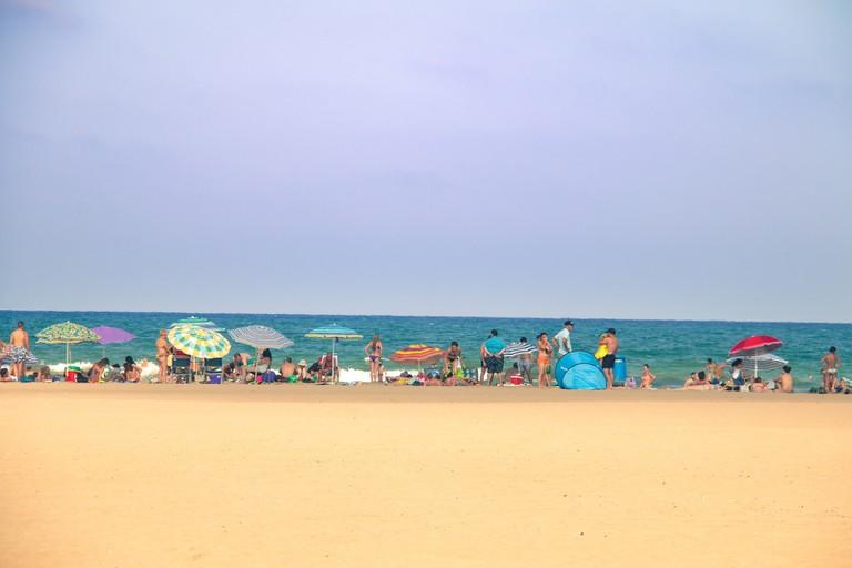 Malvarossa Beach, Valencia
