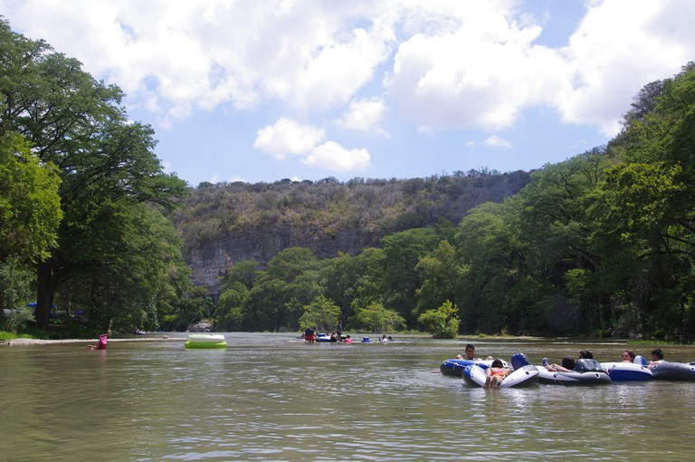 Float down the Guadalupe River