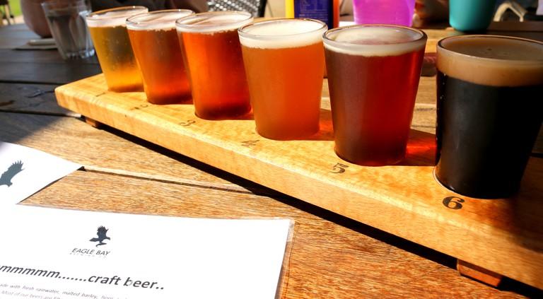 Craft Beer Tasting Order!