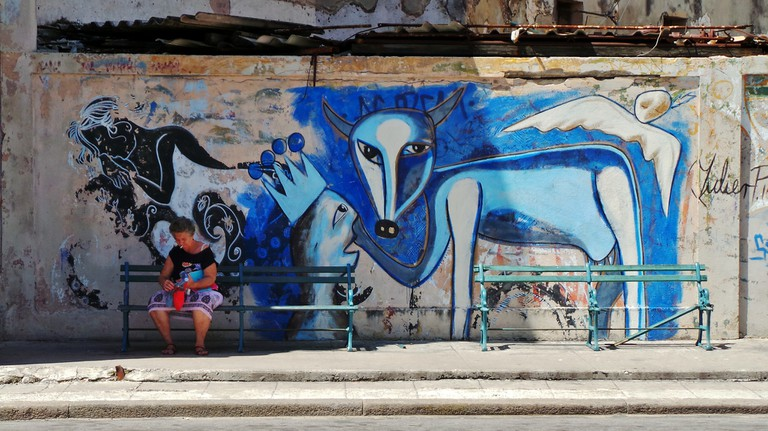 Another Graffiti by Yulier P. in Havana, Cuba | © Gareth Williams / Flickr