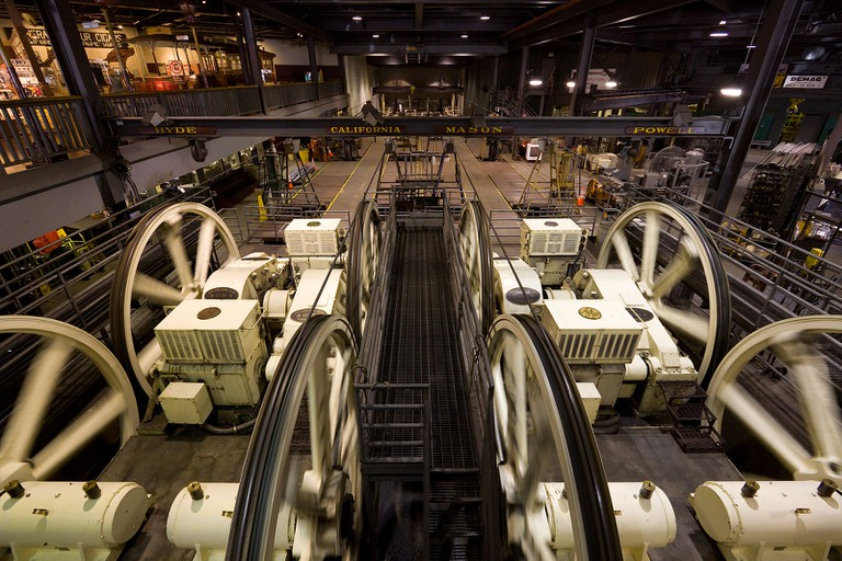 The powerhouse of the San Francisco cable cars