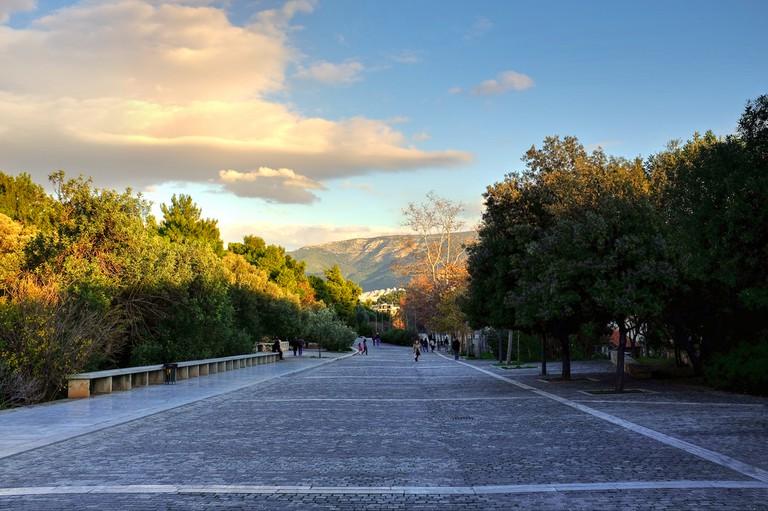 Dionysiou Areopagitou (near the entrance to Acropolis)   © Min Zhou/Flickr