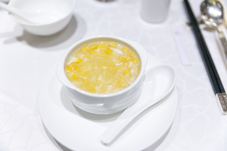 Crab meat and sweet corn soup | City Foodsters/Flickr