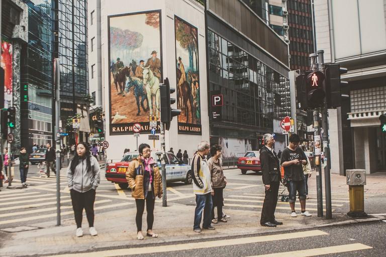 Waiting at a stoplight in Sheung Wan | ©Jirka Matousek/Flickr