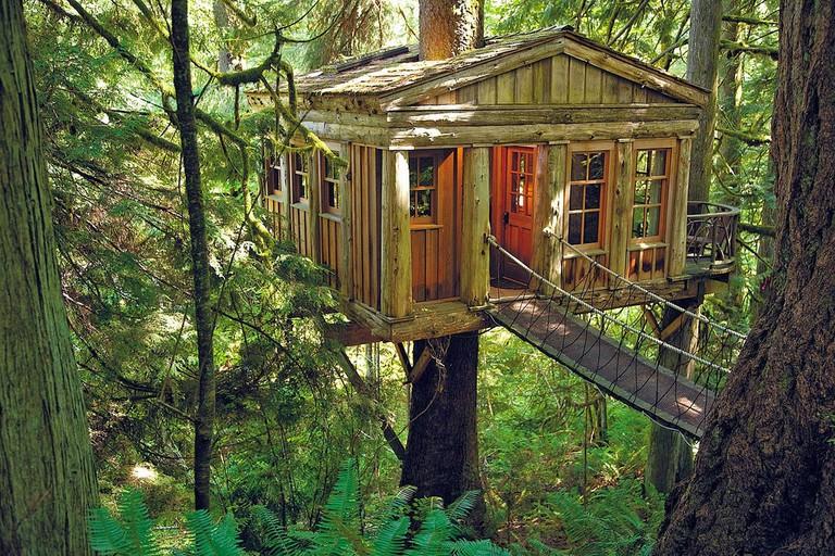 Treehouse |©Tony Guyton/Flickr