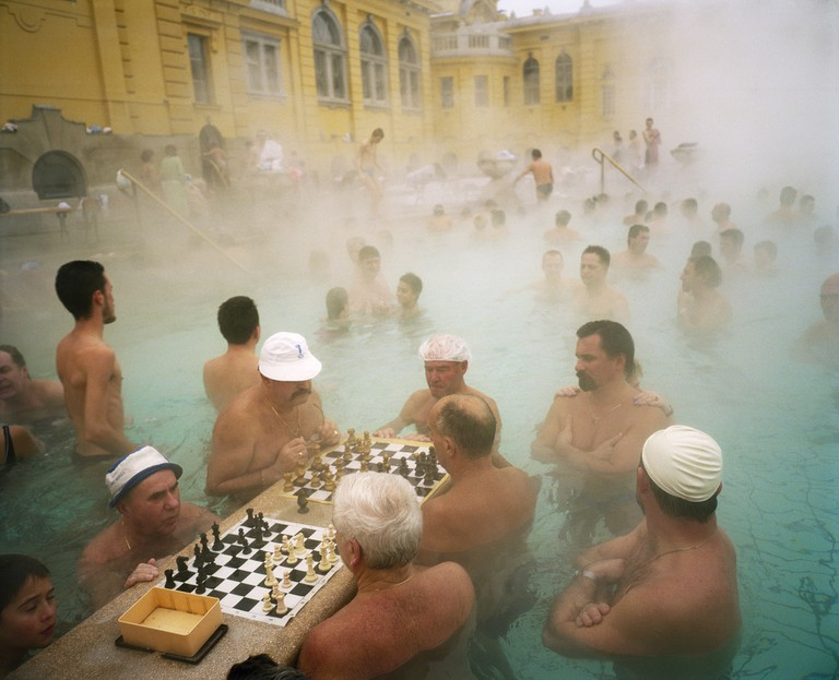 Martin Parr, Hungary, Budapest, Szechenyi thermal baths, 1997 | © Martin Parr, Magnum Photos, Rocket Gallery
