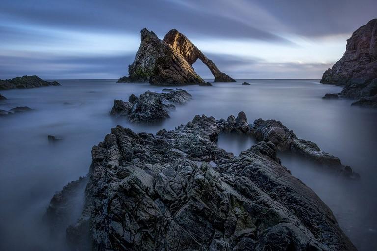 'Bow Fiddle Rock', Moray | © Stephen Crossan