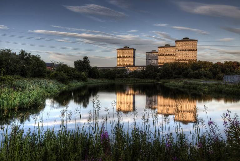 Reflections, Firhill, Glasgow| © Kerstin Gruenling