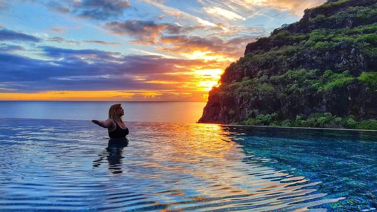 Tara Povey on Madeira island | Courtesy of Tara Povey