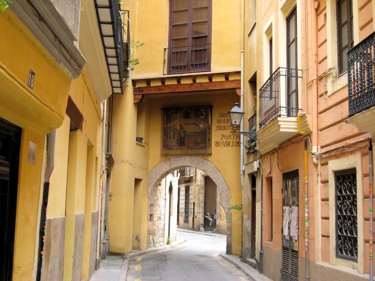 Portal de la Valldigna in El Carmen, Valencia.
