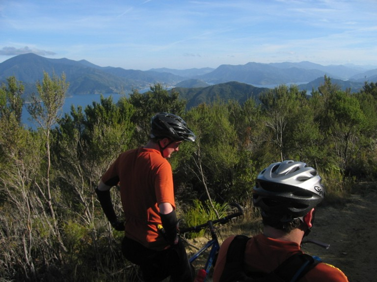 On Top of the Queen Charlotte Track