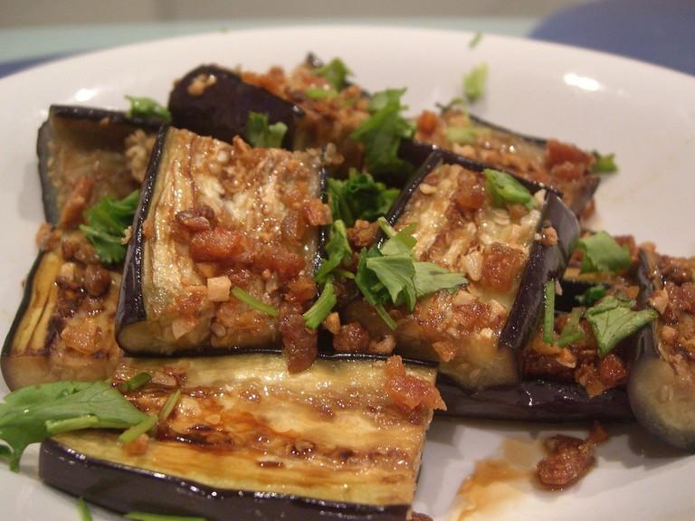 Eggplant Dish | © Alpha / Flickr