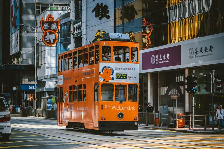 A Hong Kong tram | © hans-johnson/Flickr