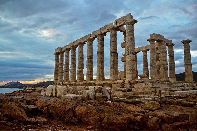 Temple of Poseidon, Sounio | © alex.lubbock/Flickr