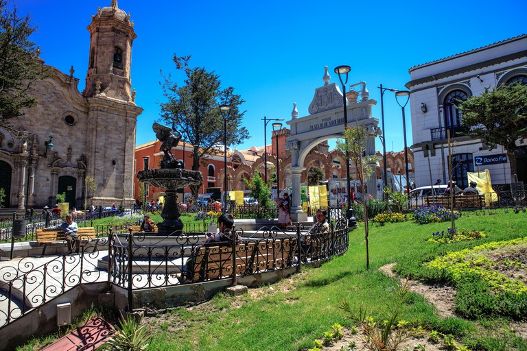 Sunny day in Sucre
