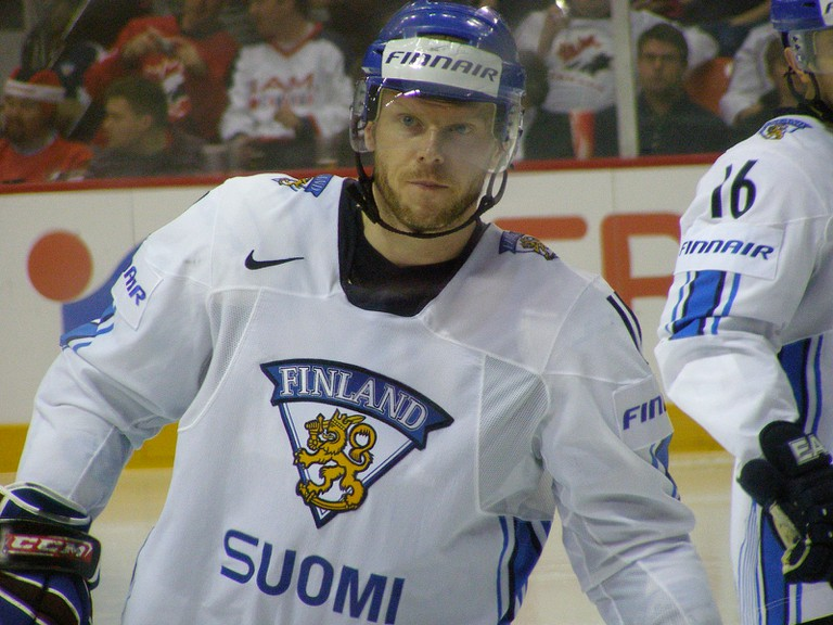 Saku Koivu in the 2008 World Championship/ RicLaf/ Flickr