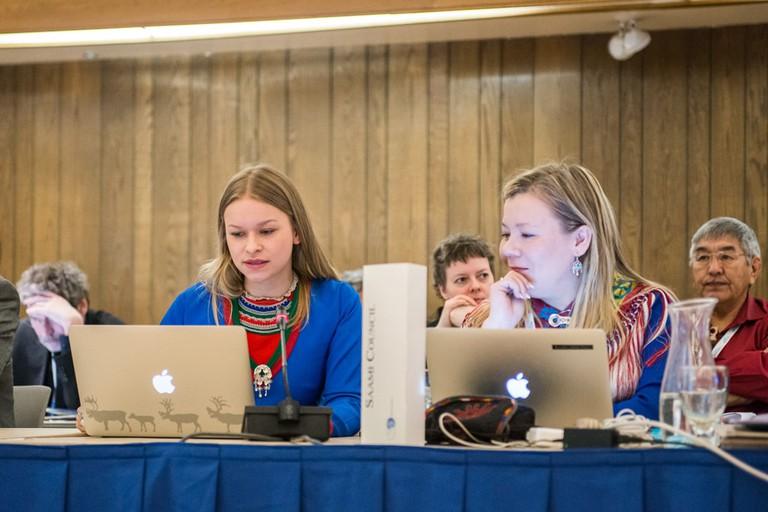 Members of the Saami Council, Finland   © Arctic Council Secretariat / Linnea Nordström