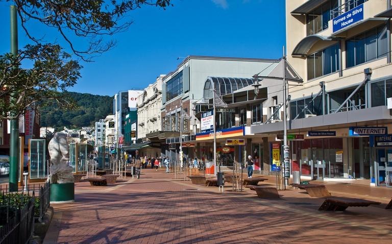 Courtenay Place, Te Aro, Wellington