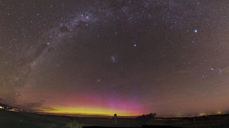 Aurora Australis in New Zealand | © Ben/Flickr