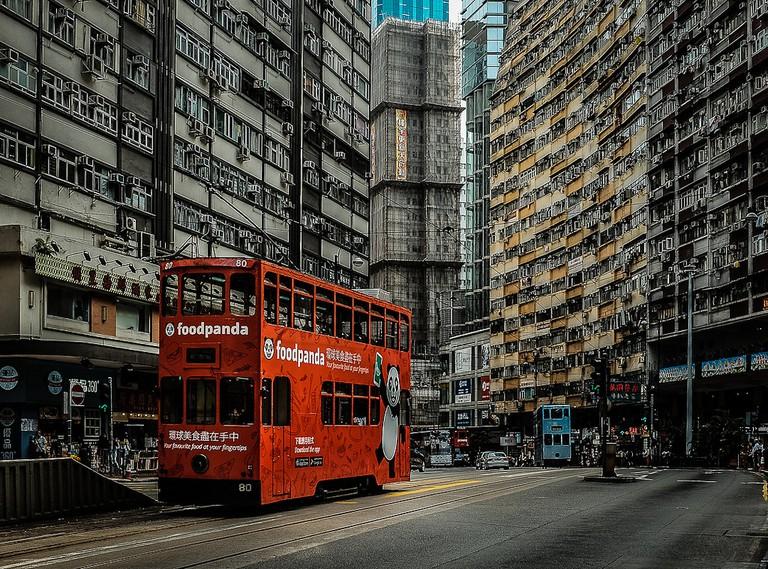 A Hong Kong tram