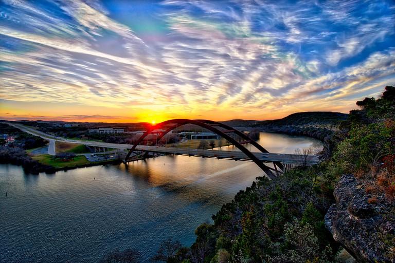 360 Bridge at Sunset | © sbmeaper1/Flickr