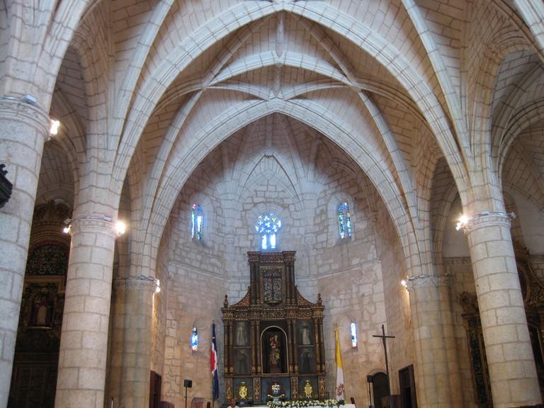 Horizontal Cathedral Altar