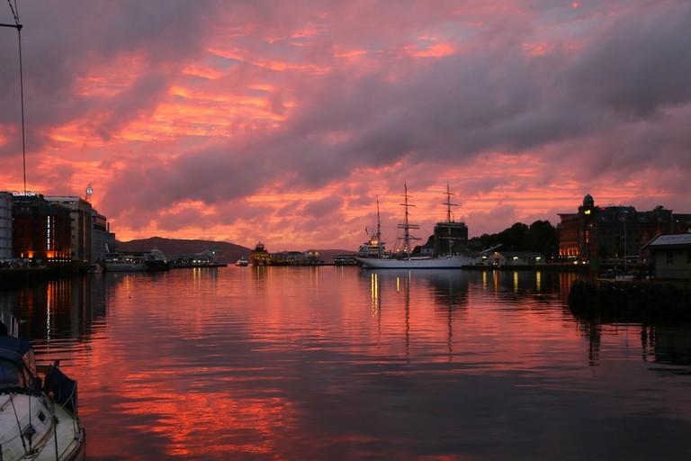 Sunset in Bergen © Juan Antonio F. Segal / Flickr