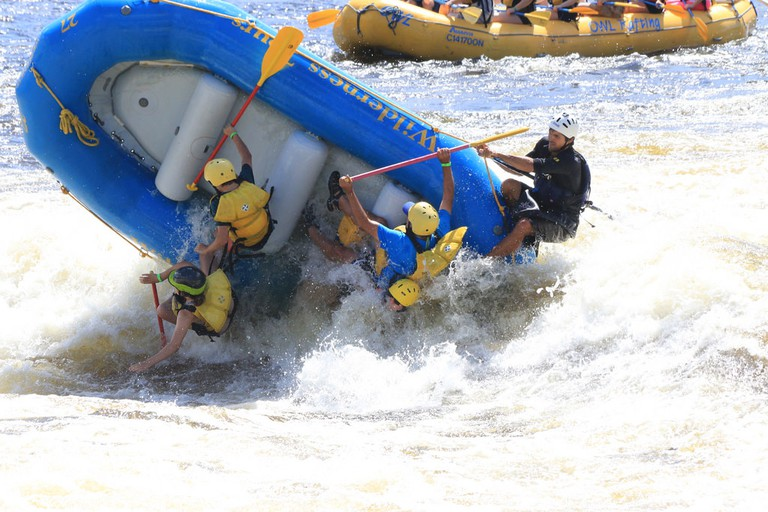 Whitewater Rafting on the Ottawa River | © woodleywonderworks / Flickr