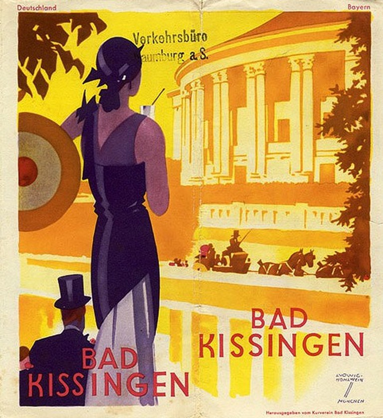 1930s travel brochure for Bad Kissingen | © Susanlenox / Flickr