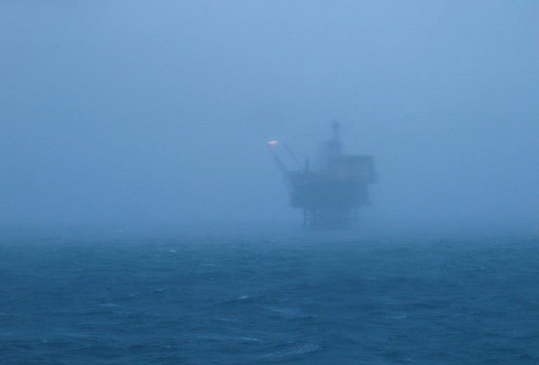 North Sea oil rig © Stig Nygaard / Flickr