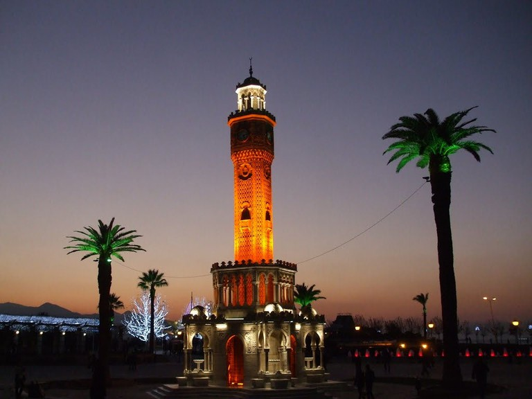 Izmir Clock Tower | © Ismail Diker/Flickr