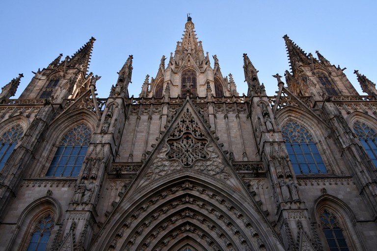 The Cathedral in Barcelona's Gothic Quarter © Richard Mortel