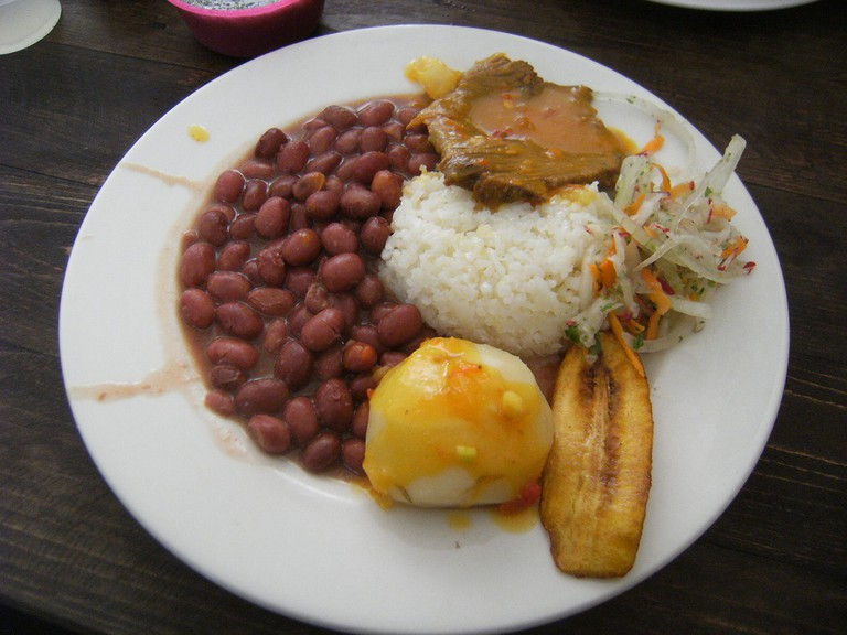 Colombian Menu del Dia © Joshua Heller / Flickr