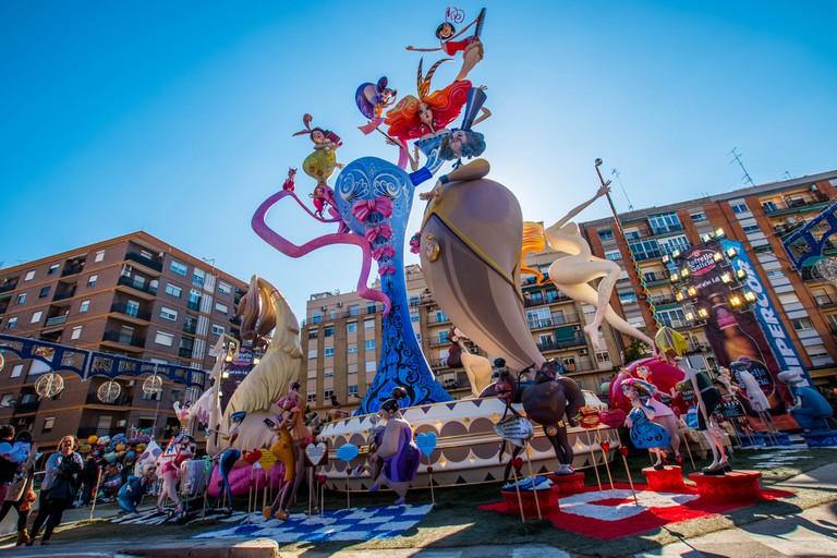 Las Fallas festival, Valencia