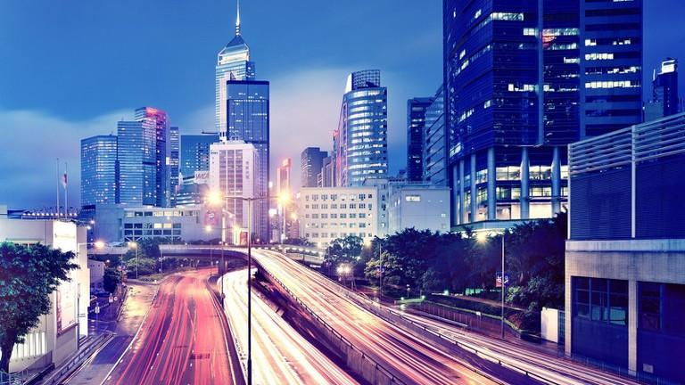 Hong Kong in the evening | © Hanson Chang/Flickr