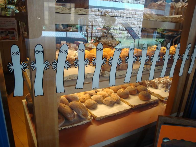 A Moomin cafe and bakery in Fukuoka, Japan/ David Pursehouse/ Flickr