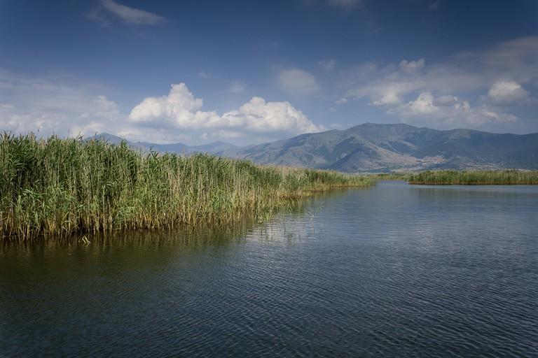 Agios Achillios, Prespa lakes