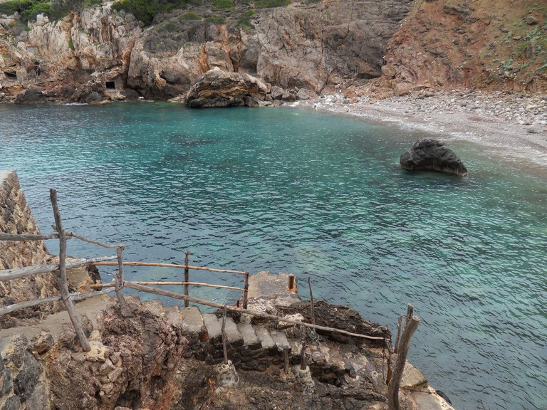 Cala Deia where Graves swam daily © Marga Carrió / Flickr