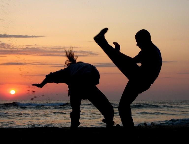 Capoeira at sunset / © Silvia Nikolova / Flickr