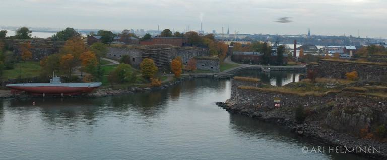 Panoramic view of modern Suomenlinna/ Ari Helminen/ Flickr