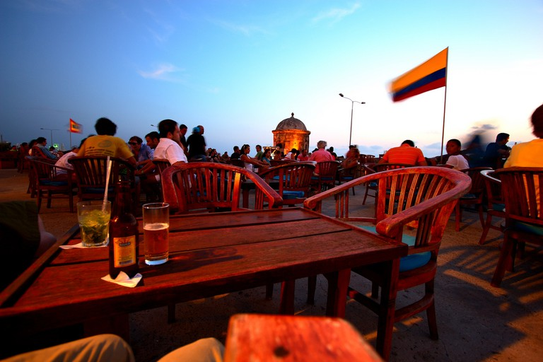 Cafe del Mar, Cartagena © Mark Rowland / Flickr