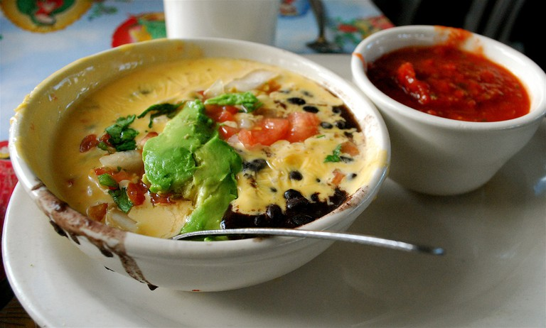 """""""Mag Mud"""" Queso from Magnolia Cafe 
