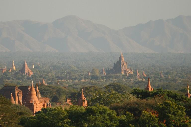 The temples of Bagan | © Ed Brambley