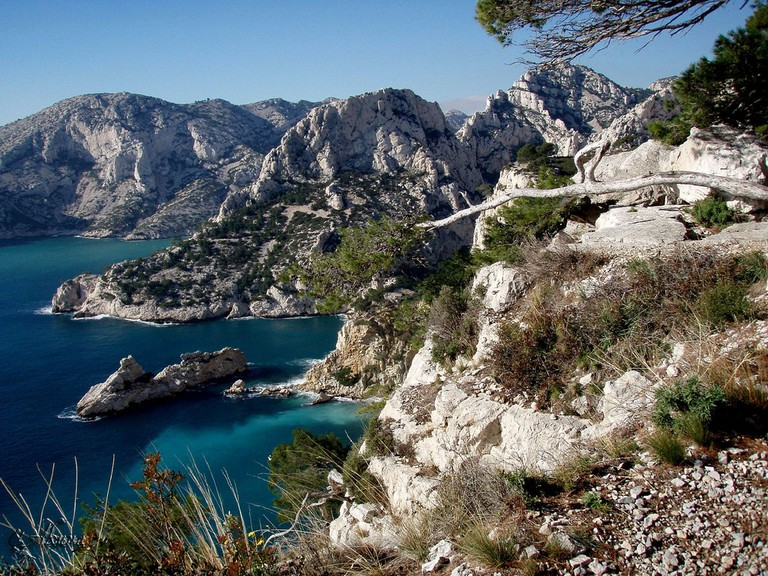 The Calanques just outside of Marseille are a natural wonder and a perfect place to visit