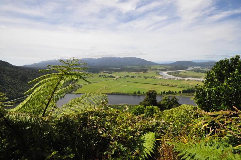 Greymouth Landscape