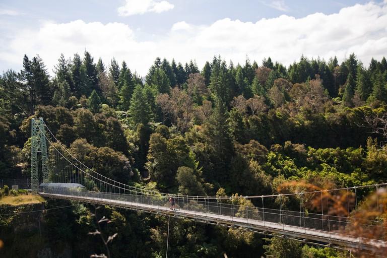 Arapuni Swing Bridge