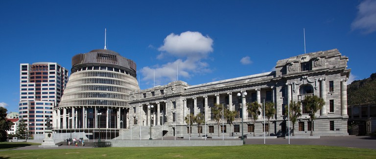 Parliament Buildings and The Beehive