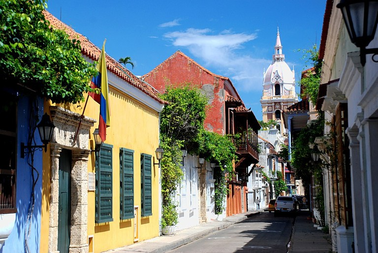 Cartagena's Old Walled City © Justin Sovich / Flickr